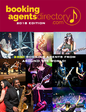 cover of the International Booking Agents Directory