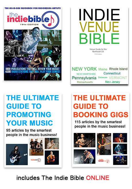 indie bible music promotion: image of rock and roll guitarist performing live on stage