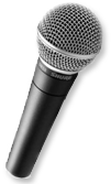 grand prize in the indie contact newsletter monthly draw is a shure microphone